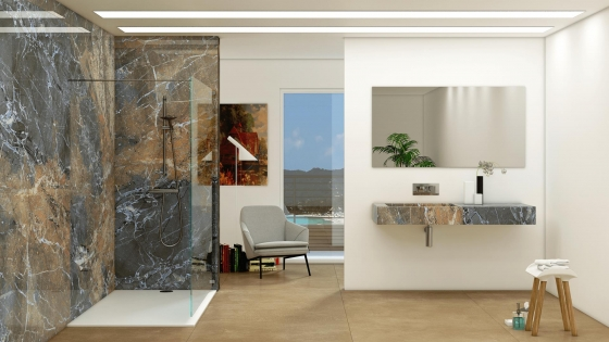 High Glossy Porcelain Tiles